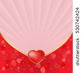 valentines background with...   Shutterstock .eps vector #530742424