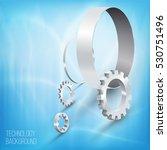 futuristic digital background....   Shutterstock .eps vector #530751496