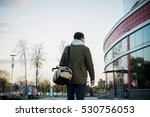 guy arrived to airport or... | Shutterstock . vector #530756053