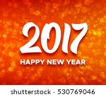happy new year 2017 greetings...   Shutterstock . vector #530769046