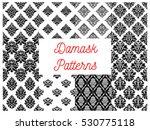 damask patterns. vector ornate... | Shutterstock .eps vector #530775118