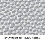 relief repeating pentagon shape ... | Shutterstock .eps vector #530775868
