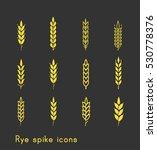 ear spike | Shutterstock .eps vector #530778376