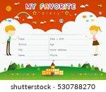 vector design elements for... | Shutterstock .eps vector #530788270