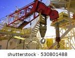 crane hooks on work site  crane ... | Shutterstock . vector #530801488