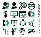 system  user  administrator... | Shutterstock .eps vector #530808100