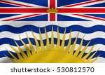 canadian provincial bc... | Shutterstock . vector #530812570