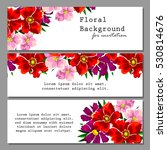 vintage delicate invitation... | Shutterstock .eps vector #530814676