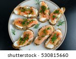 Smoked Salmon Bruschetta With...