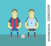 uruguay football players | Shutterstock .eps vector #530832439