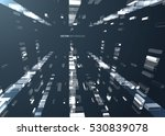 abstract geometric technology... | Shutterstock .eps vector #530839078