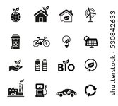 ecology icon set. | Shutterstock .eps vector #530842633