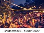 vintage tone blur image of... | Shutterstock . vector #530843020