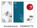 japanese banner  vector... | Shutterstock .eps vector #530846773