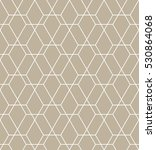 abstract geometric pattern with ... | Shutterstock . vector #530864068
