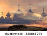 blurred background mosque
