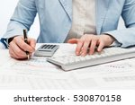 financial accounting. business... | Shutterstock . vector #530870158
