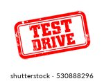 test drive rubber stamp vector... | Shutterstock .eps vector #530888296