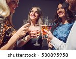 people dancing and having fun... | Shutterstock . vector #530895958