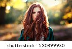close up portrait of  a... | Shutterstock . vector #530899930