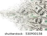 money american hundred dollar... | Shutterstock . vector #530900158