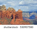 coffee pot rock under cloudy... | Shutterstock . vector #530907580