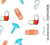 diagnosis pattern. cartoon...   Shutterstock .eps vector #530910808