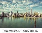 Chicago Skyline Aerial...