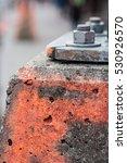 Fragment Of The Concrete Block...