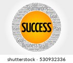 success word cloud collage ... | Shutterstock .eps vector #530932336