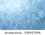 abstract snow bokeh background | Shutterstock . vector #530937994
