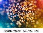 abstract blurred of blue and... | Shutterstock . vector #530953723