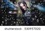 numerology  magic of numbers | Shutterstock . vector #530957020