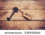 business concept   old key... | Shutterstock . vector #530958364