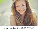 beautiful woman | Shutterstock . vector #530967340