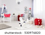 room for a baby in bright... | Shutterstock . vector #530976820