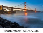 golden gate bridge in the best... | Shutterstock . vector #530977336