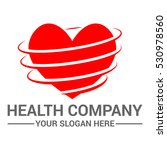 health logo design template | Shutterstock .eps vector #530978560