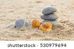 stones in the beach | Shutterstock . vector #530979694