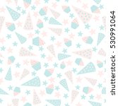 seamless vector pattern with... | Shutterstock .eps vector #530991064