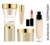 cosmetics packages design... | Shutterstock .eps vector #530994664