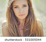 beautiful woman | Shutterstock . vector #531005044