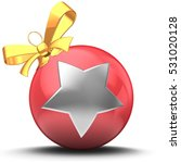 3d illustration of christmass... | Shutterstock . vector #531020128