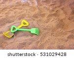 Children's Beach Toys On Sand ...