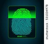 the process of fingerprint...