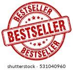 bestseller. stamp. red round... | Shutterstock .eps vector #531040960