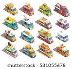 Street Food Trucks Models...