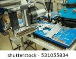 machine for bending aluminum... | Shutterstock . vector #531055834