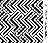 the geometric pattern by... | Shutterstock . vector #531064210