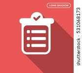 to do list vector icon  notes... | Shutterstock .eps vector #531068173